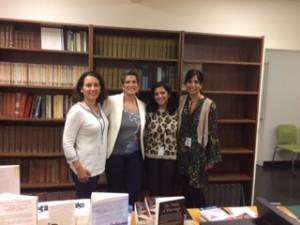 Sujata Massey, Maya Lang, Tania James and Mira Jacob