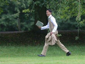 "Dev Patel plays the lost genius Ramunajan in the film version of ""The Man Who Knew Infinity"""