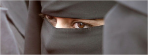 Young woman in burqa (AP Photo)