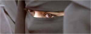 Young woman in burqa (AP Photo)