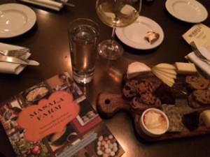 "A final bite and drink at Morrell's with Suvir Saran's ""Masala Farm"""