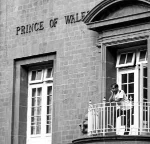 Prince of Wales Seaman's Club in Bombay, 1921, Bombaywalla.org