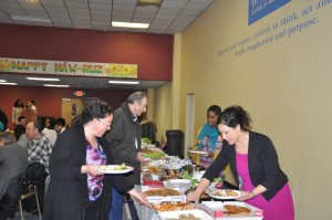 The Baltimore Naw-Ruz buffet