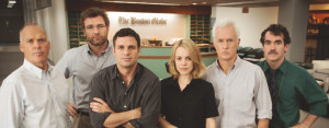 "Actors playing journalists in ""Spotlight"""