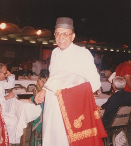 A welcoming Parsi gentleman I will always remember; India International Centre 1989