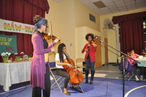 Young Musicians at the Baha'i Naw-Ruz event