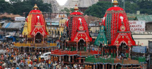 Jagannath celebration in Puri