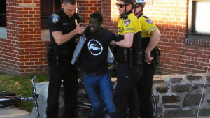Arrest of Freddie Gray captured on cell phone video and shared by Baltimore Sun