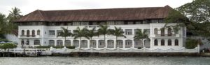 Brunton Boatyard in Fort Cochin; each guest room has a private veranda