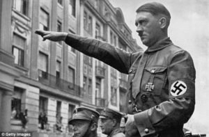 Adolf Hitler originated the Sieg Heil salute that became mandatory for civilians