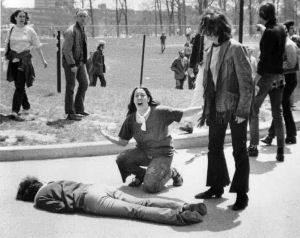 Kent State Massacre photographed by John Filo/Getty