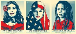 Shepard Fairey's prints to commemorate the 2017 Inaugural
