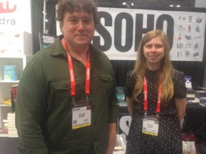 Soho Friends: PR Paul Oliver and Managing Editor Rachel Kowal