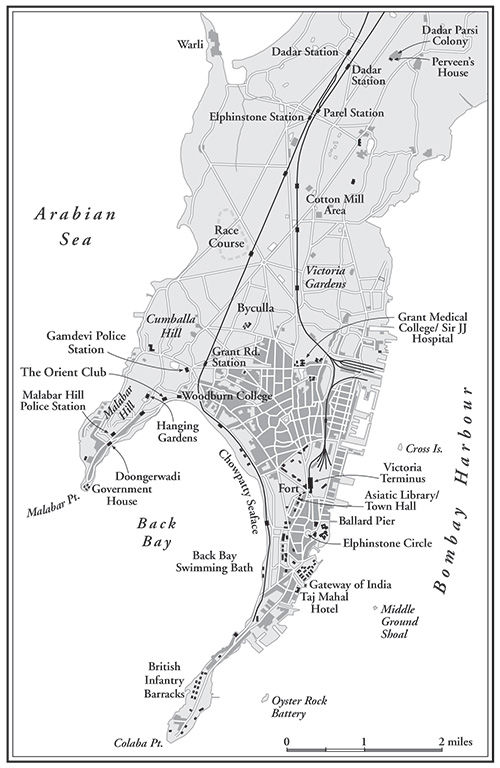 The Bombay Prince map
